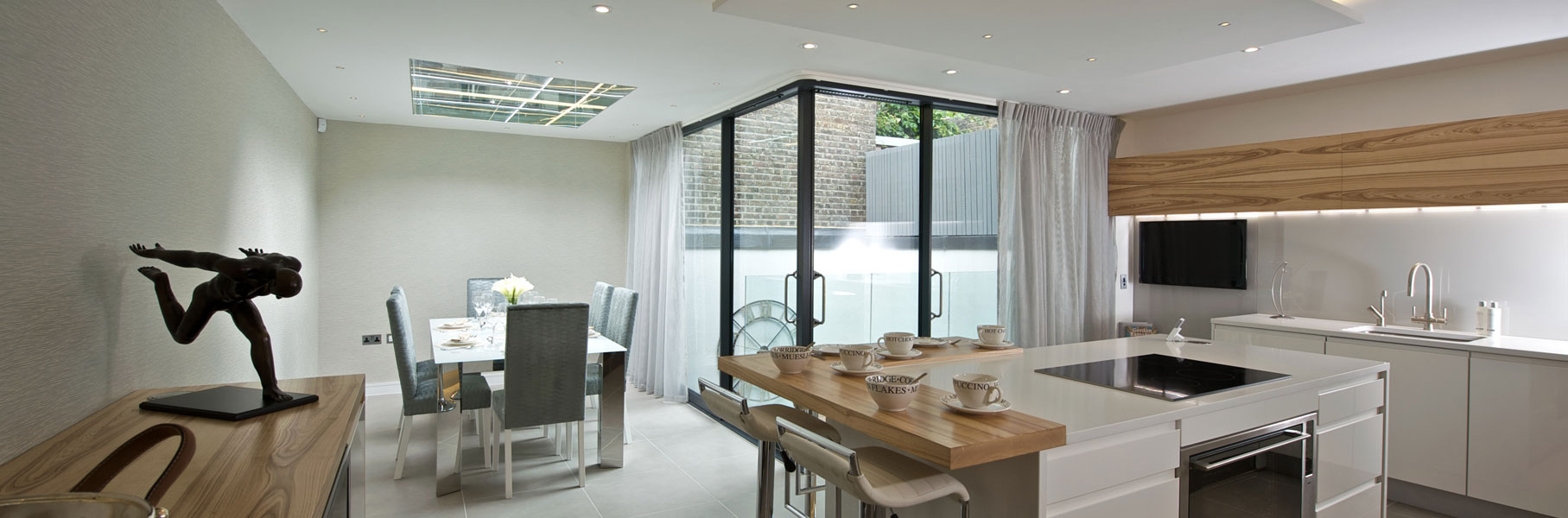 Elvaston Mews, London. Interior design image by Elizabeth Designs Limited